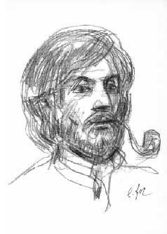 Frédéric Ligier par Eugenio Foz - Reproduction autorisée